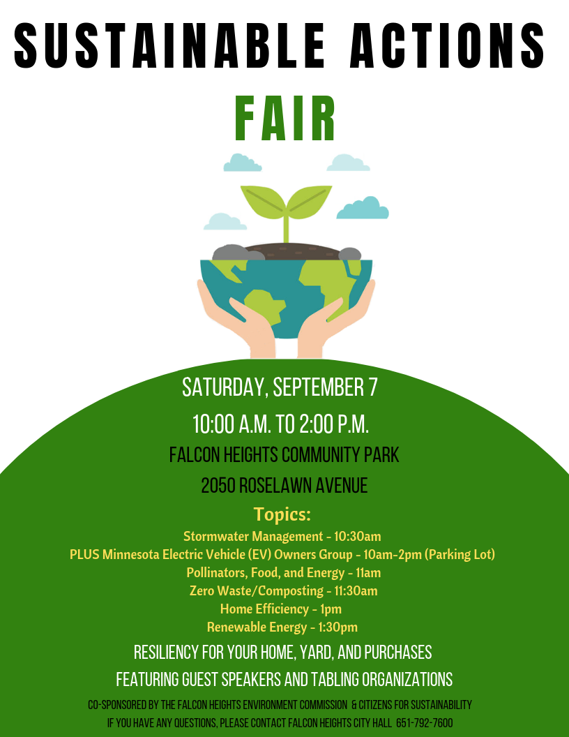 Sustainable Actions Fair Final Flyer 3